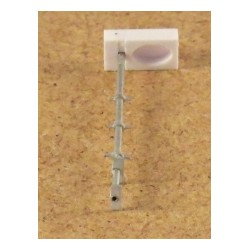 SBB Gleisfeld Lampe, altes Modell, einfach, ohne LED, 1 Stück, Bausatz