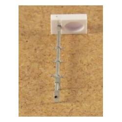 SBB Gleisfeld Lampe, altes Modell, einfach, ohne LED, 10 Stück, Bausatz
