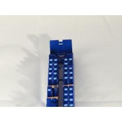 PIKO ICE 3, 2.Kl. Kopfpolster (als Klebeetikette), 90 Stück mit Reserven