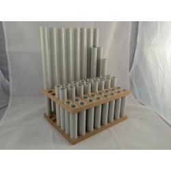 Kleinteilmagazin mit Rohren, 1x Boden breit & 1x Zwischenstück breit
