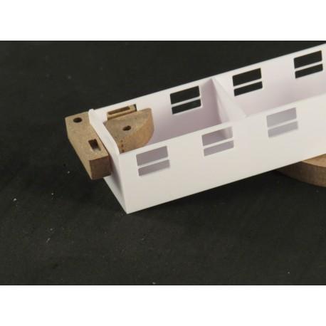 Magnet Winkel 90 Grad Mini, 30 x 24 x 8mm, 2 Stück