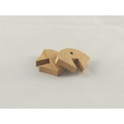 Magnet Winkel Ständer Micro / Mini, 38 x 29 x 8mm, 2 Stück