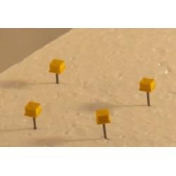 Achszähler Siemens (ohne Kabel, gebohrt), 10 Stück
