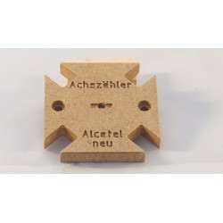Werkzeug zum Bohren vom Alcatel Achszähler (Gehäuse)