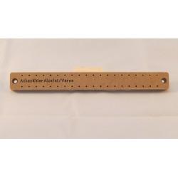 Werkzeug zum Spritzen vom Alcatel Achszähler (Gehäuse, Vorne)