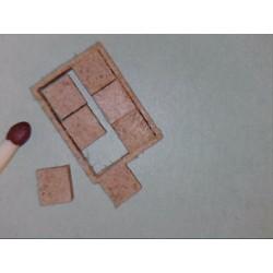 Kabelschacht, sichtbarem Rahmen, 1 Anschluss