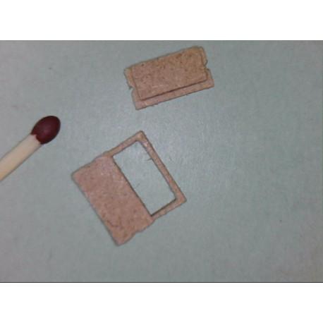 Kabelschacht, ohne sichtbarem Rahmen, 2 Platten