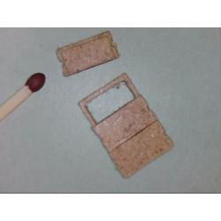 Kabelschacht, ohne sichtbarem Rahmen, 3 Platten