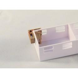 Magnet Winkel 90 Grad Micro, 15 x 15 x 8mm, 2 Stück