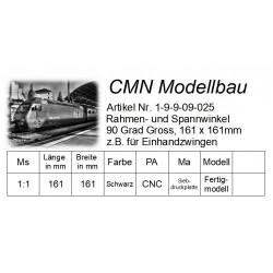 Rahmen- und Spannwinkel 90 Grad Gross, 161 x 161mm & 105 x 105mm