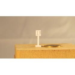 Zugabfertigung Integra, kurz 2 (3) Geräte links, grosse Platte, 2 Stück